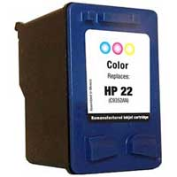 Micro Center Remanufactured HP 22 Tri-color Ink Cartridge
