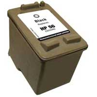 Micro Center Remanufactured HP 56 Black Ink Cartridge