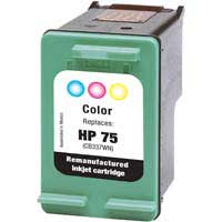 Micro Center Remanufactured HP 75 Tri-color Ink Cartridge