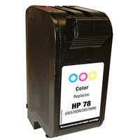 Micro Center Remanufactured HP 78 Tri-Color Ink Cartridge