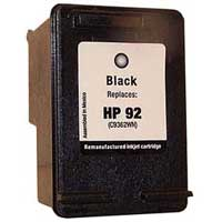 Micro Center Remanufactured HP 92 Black Ink Cartridge
