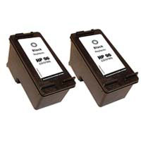 Micro Center Remanufactured HP 96 Black Ink Cartridge 2-Pack
