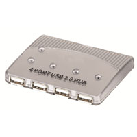 Inland 4-Port PL High Speed USB 2.0 Hub
