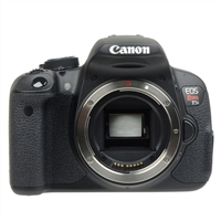 Canon EOS Rebel T5i 18 Megapixel Digital SLR Camera Body - Black