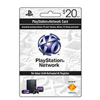 Sony PlayStation $20 Network Card