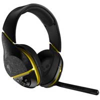 Skull Candy PLYR 2 Over-Ear Wireless Gaming Headset - Black/Yellow