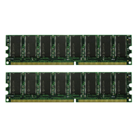Centon 2GB DDR-400 (PC-3200) CL3 Dual Channel Desktop Memory Kit (Two 1GB Memory Modules)