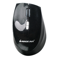 IOGear E7 Wireless optical Mouse - Black