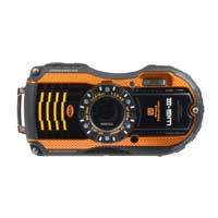 Pentax WG-3 16 Megapixel Digital Camera Kit - Orange