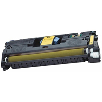 Micro Center Remanufactured HP 121A Yellow Toner Cartridge