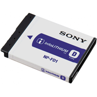 Sony NPFD1 Lithium Ion Battery