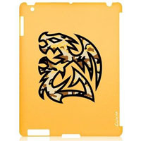 Battle Dragon Tough Case for iPad 3 - Yellow