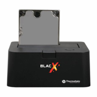 "Thermaltake BlacX 2.5""/3.5"" SATA Hard Drive USB Docking Station - Refurbished"