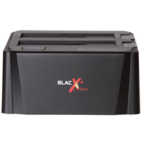 BlacX Duet Dual Hard Drive Docking Station SATA to USB 2.0 / eSATA - Refurbished