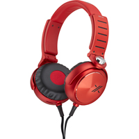 Sony MDR-X05 The X Stereo Headphones - Red/Gray