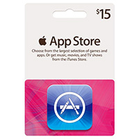 Apple iTunes - Apps Card $15