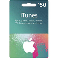 Apple iTunes Apps Card - $50
