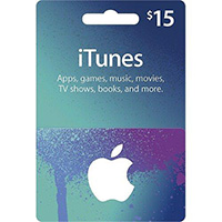 Apple iTunes Icons Card - $15
