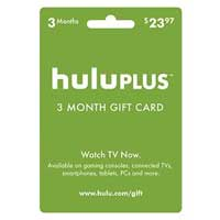 InComm Hulu 3 Month Subscription