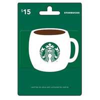 InComm Starbucks $15