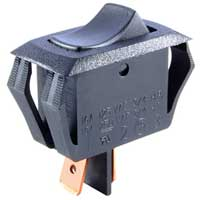 NTE Electronics 54-060 Switch Rocker Miniature Snap In