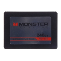 "Monster Digital SSDDK-0240-B 240GB SATA 6.0Gb/s 2.5"" Internal Solid State Drive Kit with SF 2281Controller"