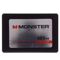 "Monster Digital SSDDK-0480-B 480GB SATA 6.0Gb/s 2.5"" Internal Solid State Drive (SSD) with SandForce 2281 Controller"