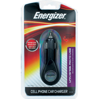 Energizer Micro USB Cell Phone Car Charger