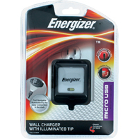 Energizer Travel Wall Charger with LED - Micro USB