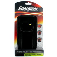 Energizer Leather Case with Built in LED Light for Smartphones