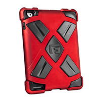 G-Form Clip-on Case for iPad 2 & iPad - Red