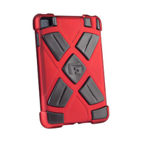 G-Form XTREME Clip-on Case for iPad mini - Red