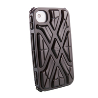 G-Form X-Protect Case for iPhone 4 & 4S - Black/Black