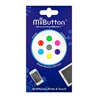 G-Form MiButton Solid Neon Home Button Stickers for Apple Devices