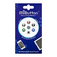 G-Form MiButton Spiffy Skulls Home Button Stickers for Apple Devices