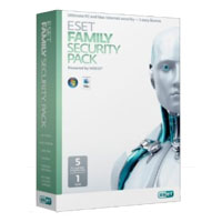 ESET Family Security Pack 5-User, 1 Year (PC/Mac/Android)