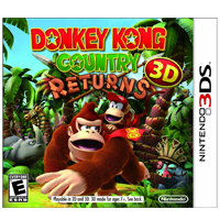 Nintendo Donkey Kong Country Returns (3DS)