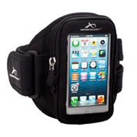 ArmPocket Aero i-10 Small Armband for iPhone 5, 4 & 4S - Black