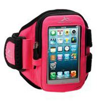 ArmPocket Aero i-10 Small Armband for iPhone 5, 4, & 4S - Pink