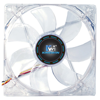 Kingwin Advanced Series 120mm Long Life Bearing Multi-color LED Case Fan