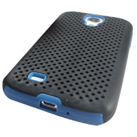 Bytech Rubber Sport Case Galaxy S 4 - Black/Blue