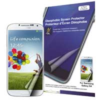 Green Onions Supply Crystal Oleophobic Screen Protector for Samsung Galaxy S4 - 2 Pack