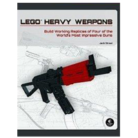No Starch Press LEGO HEAVY WEAPONS