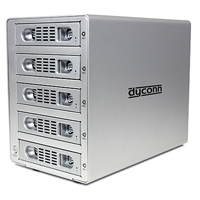 Dyconn QUARTZ 5-Bay RAID Hard Drive Enclosure