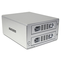Dyconn Quartz 2-Bay RAID Hard Drive Enclosure