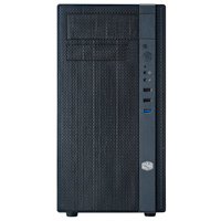 Cooler Master N200 Mini Tower mATX Computer Case - Black