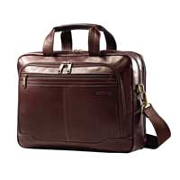 "Samsonite Columbian Toploader fits up to 15.6"" Laptops - Brown"