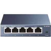 TP-LINK TL-SG105 5-Port 10/100/1000Mbps Gigabit Desktop Switch