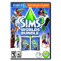 Electronic Arts The Sims 3: Worlds Bundle (PC/Mac)