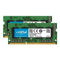 Crucial 16GB DDR3-1600 (PC3-12800) CL11 Laptop Memory Kit (Two 8GB Memory Modules)